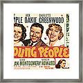 Young People, Shirley Temple, Jack Framed Print