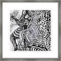 Zulu Dance - South Africa Framed Print