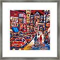 The Night Life On Crescent Street Framed Print