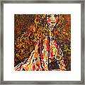 The Wild Woman Framed Print