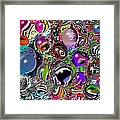 Abstract 62316.5 Framed Print