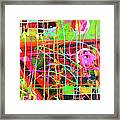 Abstract Colorful Framed Print