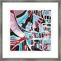 Abstract Marina Framed Print