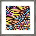 Aceo Abstract Design Framed Print