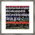 Animals As Art With Text Framed Print