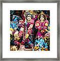 Beautiful Image Of Krishna And Radhe From Boise Hare Krishna Temple Framed Print