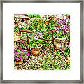 Bike Blossoms Framed Print