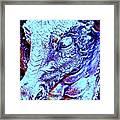 Blue-dragon Framed Print by Ramon Labusch