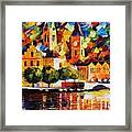 Castle By The River Framed Print