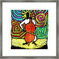 Cello Soloist Framed Print