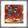 Dudjom's Dorje Drollo Framed Print