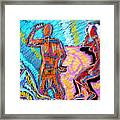 Electricity - 3 Figures Framed Print