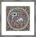 Elephants 1a Framed Print