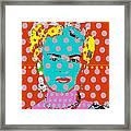 Frida Framed Print by Ricky Sencion
