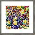 Fruit Full Vibrations Framed Print