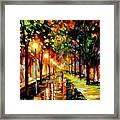 Green Dreams Framed Print