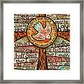 Holy Spirit Prayer By St. Augustine Framed Print