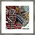 Escaliers De Montreal Ville De Verdun Best Original Montreal Paintings On Sale Peintures  Framed Print