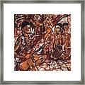 Iban Sape Framed Print