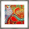 Jinga Bird Framed Print