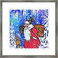 Merry Christmas. Framed Print