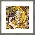 Mucha: Cigarette Papers Framed Print