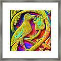 Mythical Bird. Framed Print