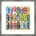 Nascar Collection Framed Print