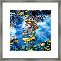 New England Water Color Framed Print