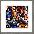 New York City Framed Print by Debra Hurd