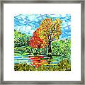 Reflection In The Wash  Framed Print