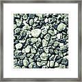 Pebbles 9 Framed Print