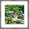 Rural Mailboxes  Framed Print