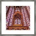 Sainte Chapelle Framed Print