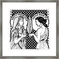 Saints Perpetua And Felicity Framed Print