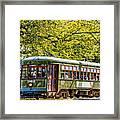 St. Charles Ave. Streetcar 2 Framed Print