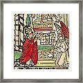 The Mass Of Saint Gregory Framed Print