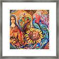 The Shabbat Queen Framed Print