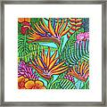 Tropical Gems Framed Print