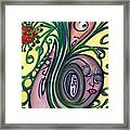 Untitled Water Color Drawing Framed Print