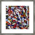 Voisinage D Automne By Rain Man Framed Print