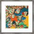 Woman's Robe Framed Print