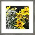 ,, Flowers ,, Framed Print