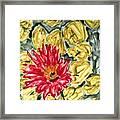Divine Flowers Framed Print