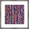 14-48 Blue Forest Framed Print