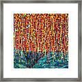 14-50 Autumn Tree Framed Print