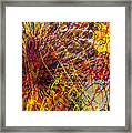 16-10 String Burst Framed Print