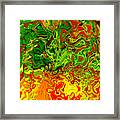 1683 Abstract Thought Framed Print