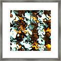 Fractal Modern Art Seamless Generated Texture Framed Print
