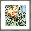 Divine Flowers Framed Print